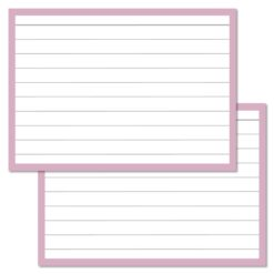 Lilac Leitner Flashcards A7
