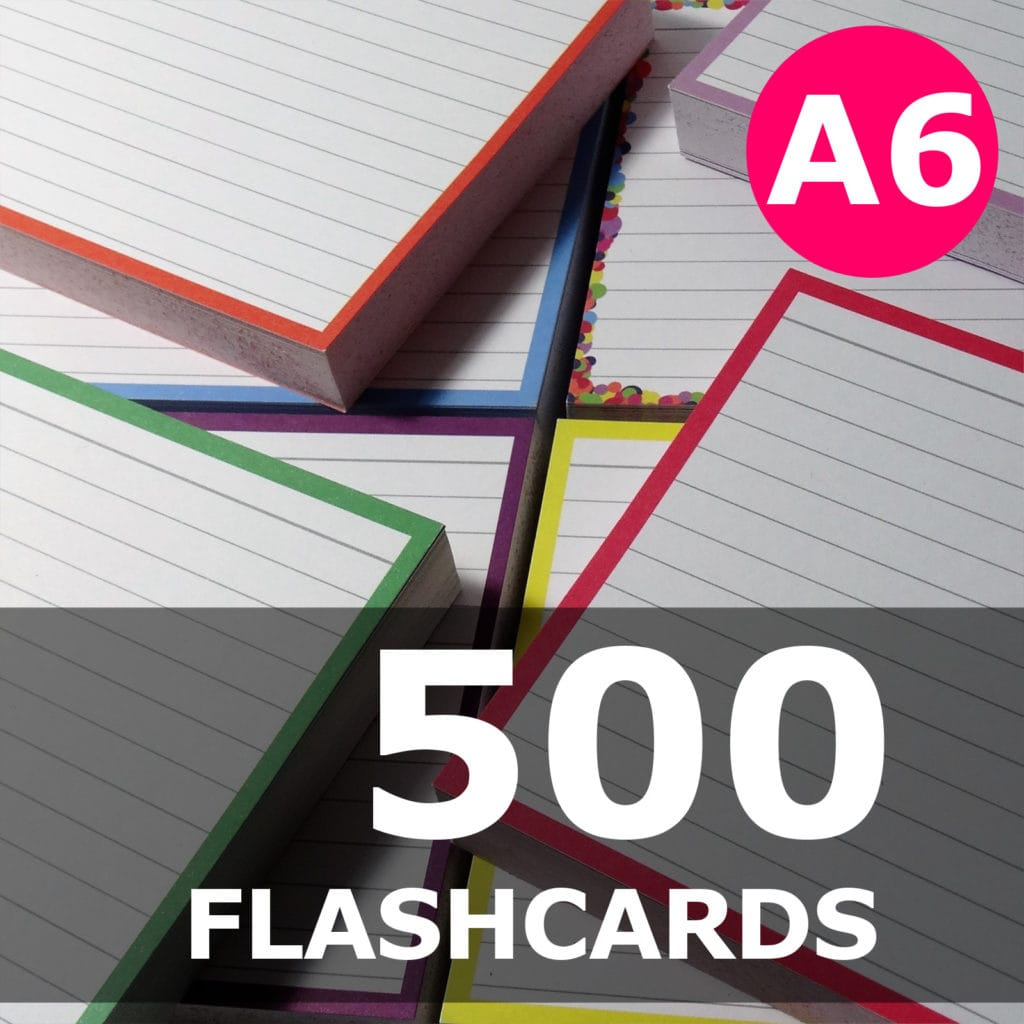 Create your bundle - A6 flashcards