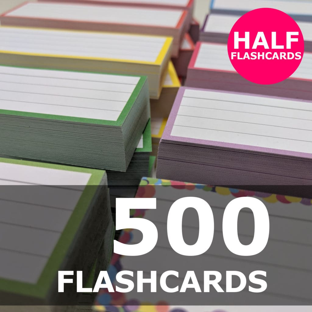 Create your bundle - Half flashcards