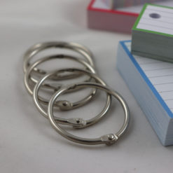 Giftpack 150 A7 flashcards 150 Half flashcards - Binder rings
