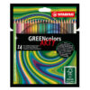 STABILO GREENcolors ARTY Pencils 24 colours