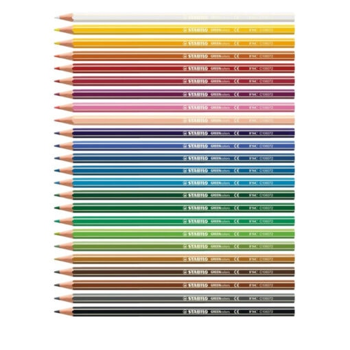 STABILO GREENcolors ARTY Pencils 24 colours open