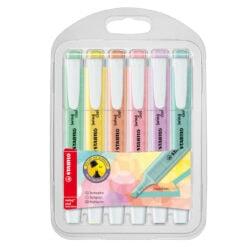 Stabilo Swing Cool Pastel 6 markers